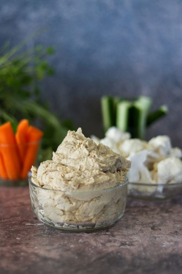 Hummus på vita bönor