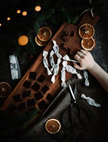 julkola fri från vitt socker