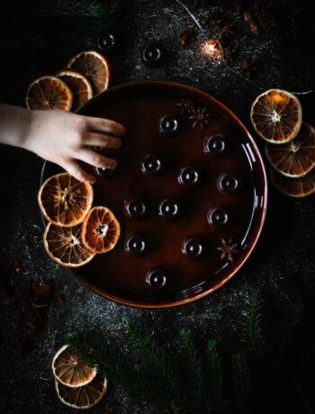 Apelsinpralin