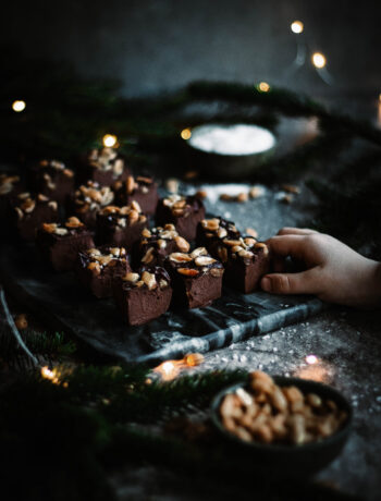 chokladfudge fri från socker