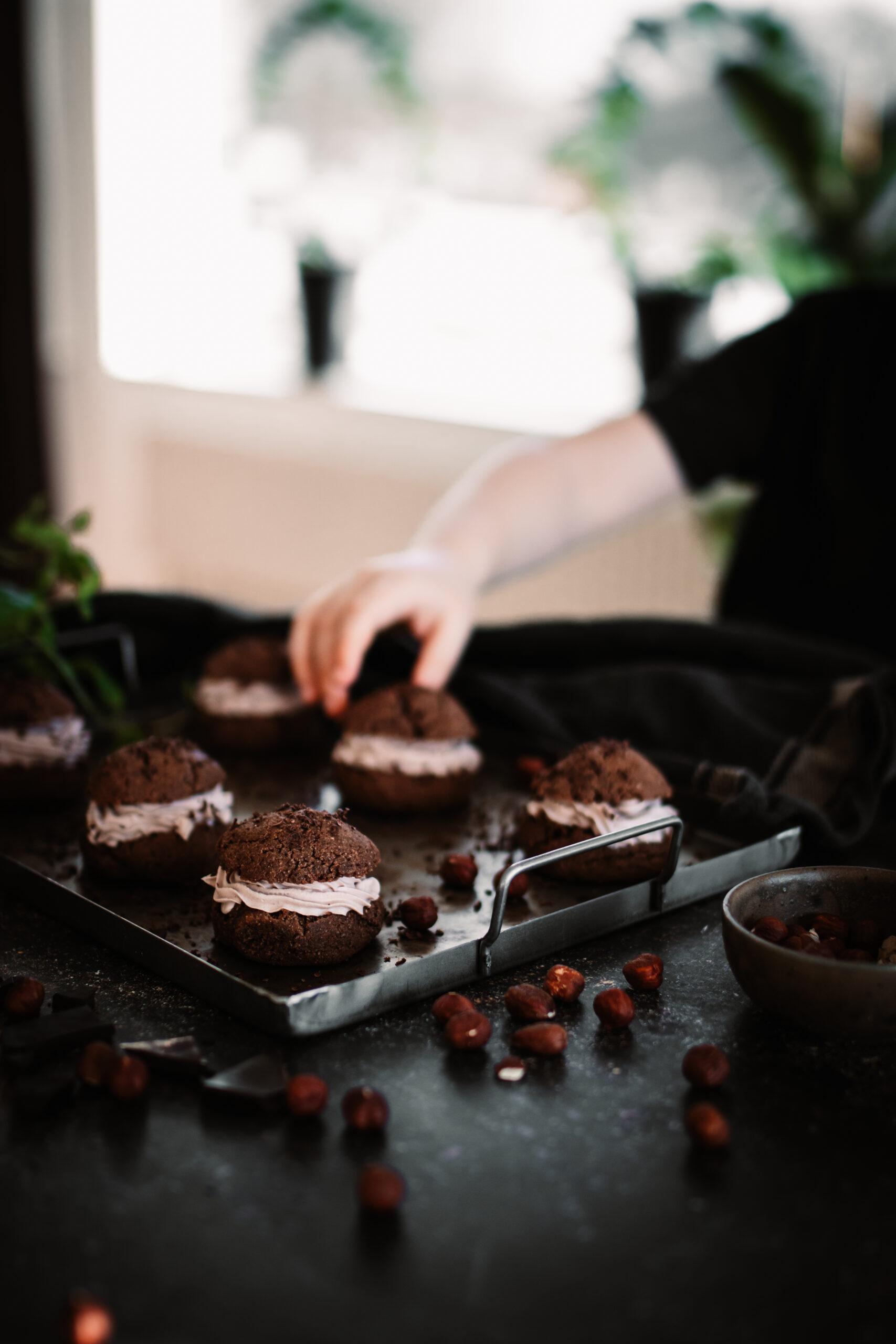 Chokladsemlor fria från spannmål, mjölk & vitt socker