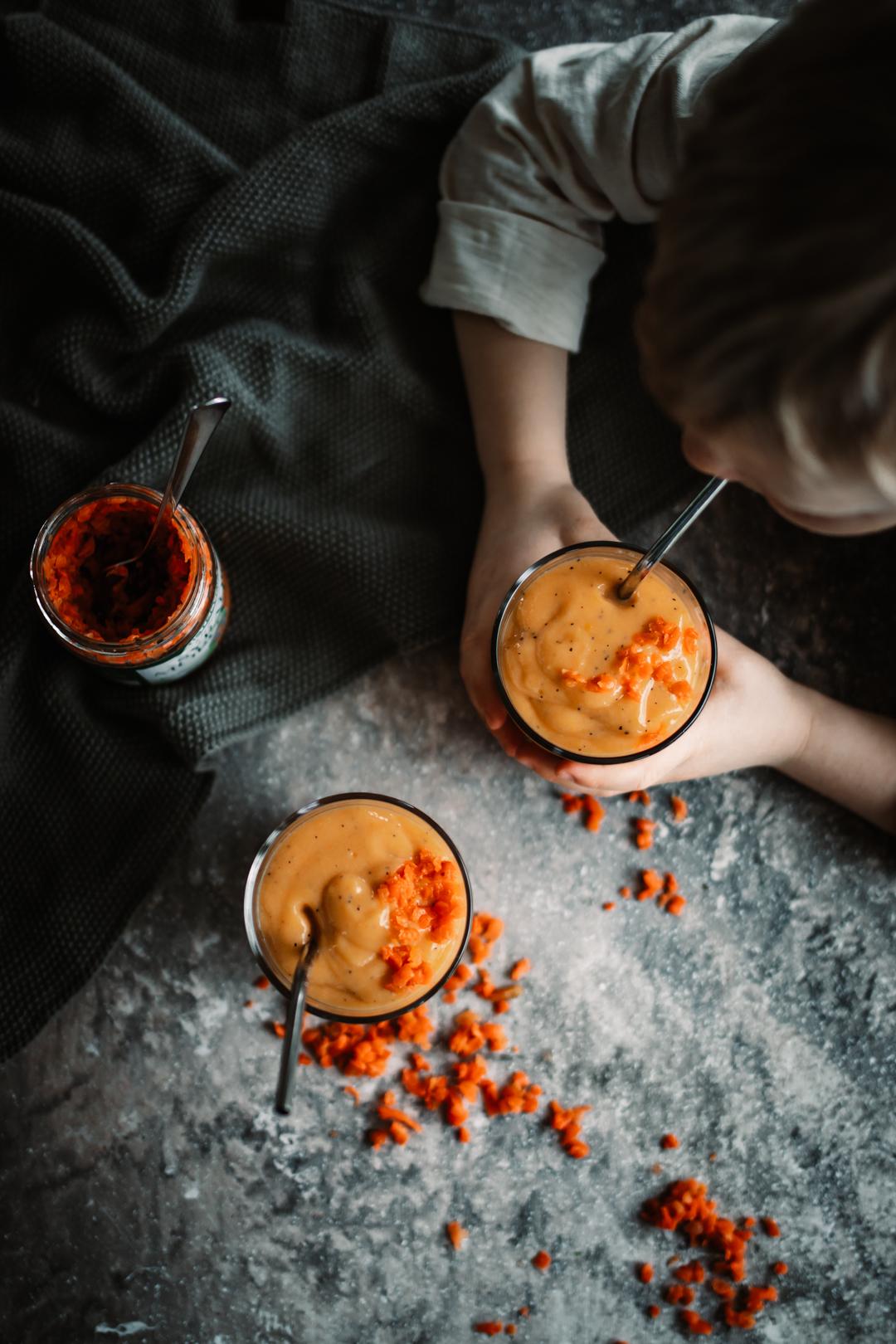 Mangosmoothie med syrad morot
