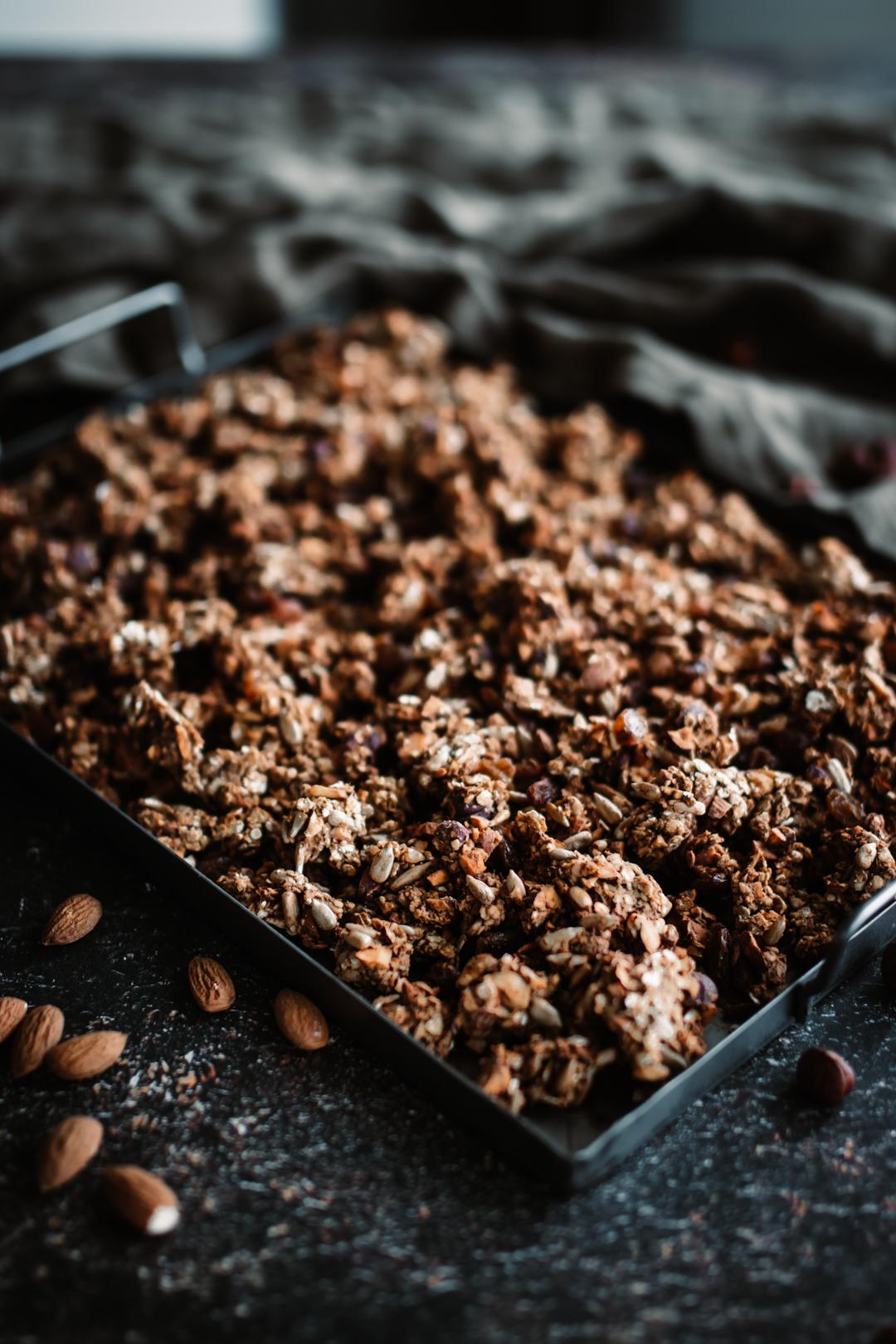 Mättande och energirik granola