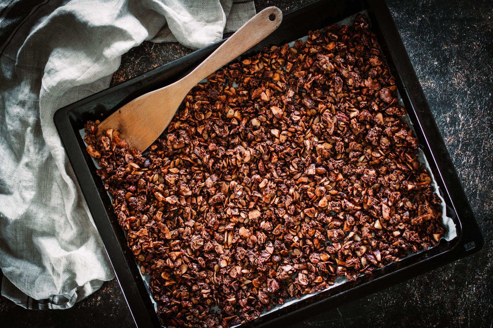 Lyxig granola